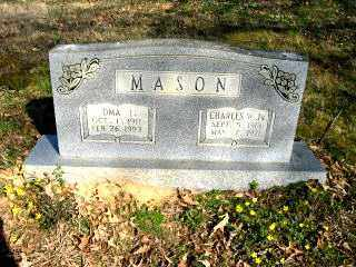 MASON, OMA I. - Faulkner County, Arkansas | OMA I. MASON - Arkansas Gravestone Photos