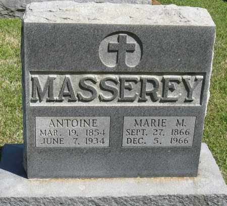 MASSERY, ANTOINE - Faulkner County, Arkansas | ANTOINE MASSERY - Arkansas Gravestone Photos