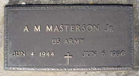 MASTERSON, JR (VETERAN), A M - Faulkner County, Arkansas | A M MASTERSON, JR (VETERAN) - Arkansas Gravestone Photos