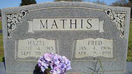 MATHIS, HAZEL - Faulkner County, Arkansas | HAZEL MATHIS - Arkansas Gravestone Photos