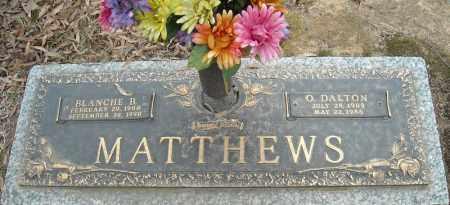 MATTHEWS, O. DALTON - Faulkner County, Arkansas | O. DALTON MATTHEWS - Arkansas Gravestone Photos