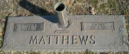"MATTHEWS, J.N. ""NAT"" - Faulkner County, Arkansas 