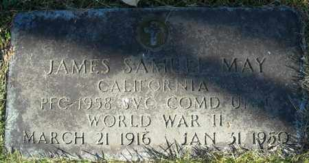 MAY  (VETERAN WWII), JAMES SAMUEL - Faulkner County, Arkansas | JAMES SAMUEL MAY  (VETERAN WWII) - Arkansas Gravestone Photos