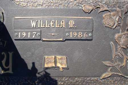 MAY, WILLELA M. (CLOSE UP) - Faulkner County, Arkansas | WILLELA M. (CLOSE UP) MAY - Arkansas Gravestone Photos