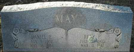 MAY, DANIEL F. - Faulkner County, Arkansas | DANIEL F. MAY - Arkansas Gravestone Photos