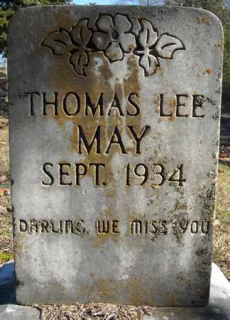 MAY, THOMAS LEE - Faulkner County, Arkansas | THOMAS LEE MAY - Arkansas Gravestone Photos