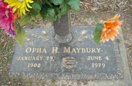 MAYBURY, OPHA H. - Faulkner County, Arkansas | OPHA H. MAYBURY - Arkansas Gravestone Photos