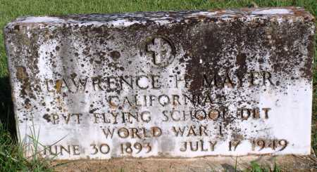 MAYER  (VETERAN WWI), LAWRENCE H - Faulkner County, Arkansas | LAWRENCE H MAYER  (VETERAN WWI) - Arkansas Gravestone Photos