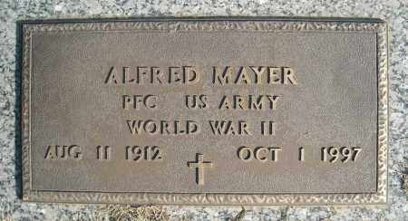 MAYER (VETERAN WWII), ALFRED - Faulkner County, Arkansas | ALFRED MAYER (VETERAN WWII) - Arkansas Gravestone Photos