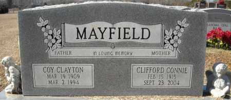 MAYFIELD, COY CLAYTON - Faulkner County, Arkansas | COY CLAYTON MAYFIELD - Arkansas Gravestone Photos