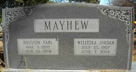 MAYHEW, HOUSTON EARL - Faulkner County, Arkansas | HOUSTON EARL MAYHEW - Arkansas Gravestone Photos