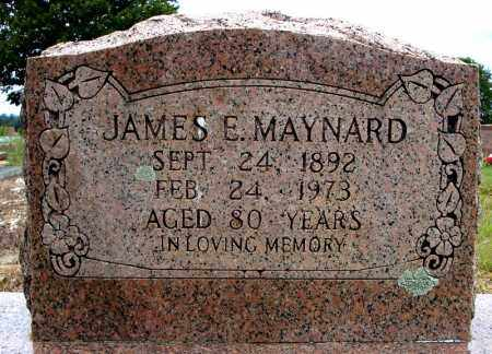 MAYNARD, JAMES E. - Faulkner County, Arkansas | JAMES E. MAYNARD - Arkansas Gravestone Photos