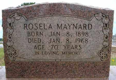 MAYNARD, ROSELA - Faulkner County, Arkansas | ROSELA MAYNARD - Arkansas Gravestone Photos