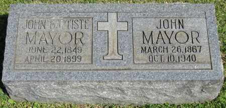 MAYOR, JOHN BAPTISTE - Faulkner County, Arkansas | JOHN BAPTISTE MAYOR - Arkansas Gravestone Photos