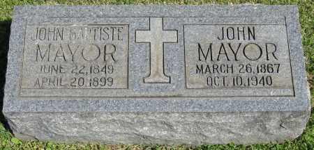 MAYOR, JOHN - Faulkner County, Arkansas | JOHN MAYOR - Arkansas Gravestone Photos