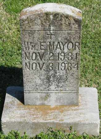 MAYOR, WM. E - Faulkner County, Arkansas | WM. E MAYOR - Arkansas Gravestone Photos