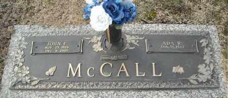 MCCALL, JOHN F. - Faulkner County, Arkansas | JOHN F. MCCALL - Arkansas Gravestone Photos