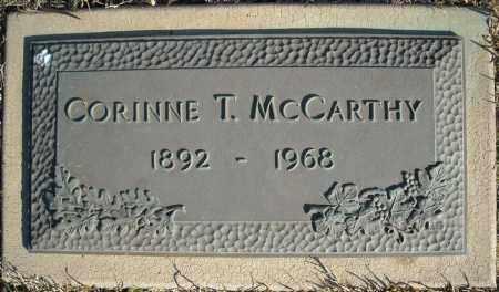 MCCARTHY, CORINNE T. - Faulkner County, Arkansas | CORINNE T. MCCARTHY - Arkansas Gravestone Photos