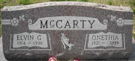 MCCARTY, ELVIN G. - Faulkner County, Arkansas | ELVIN G. MCCARTY - Arkansas Gravestone Photos