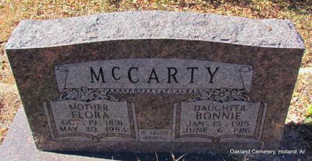 MCCARTY, BONNIE - Faulkner County, Arkansas   BONNIE MCCARTY - Arkansas Gravestone Photos