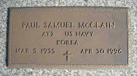 MCCLAIN (VETERAN KOR), PAUL SAMUEL - Faulkner County, Arkansas | PAUL SAMUEL MCCLAIN (VETERAN KOR) - Arkansas Gravestone Photos