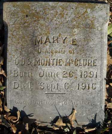 MCCLURE, MARY E. - Faulkner County, Arkansas | MARY E. MCCLURE - Arkansas Gravestone Photos