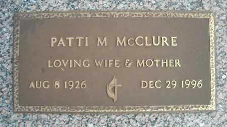 MCCLURE, PATTI M. - Faulkner County, Arkansas | PATTI M. MCCLURE - Arkansas Gravestone Photos