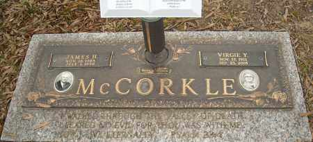 MCCORKLE, VIRGIE Y. - Faulkner County, Arkansas | VIRGIE Y. MCCORKLE - Arkansas Gravestone Photos