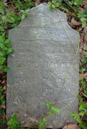 MCCOY, BESSIE - Faulkner County, Arkansas | BESSIE MCCOY - Arkansas Gravestone Photos