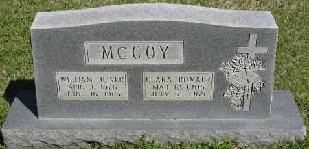 MCCOY, WILLIAM OLIVER - Faulkner County, Arkansas | WILLIAM OLIVER MCCOY - Arkansas Gravestone Photos