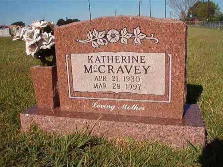 MCCRAVEY, KATHERINE - Faulkner County, Arkansas | KATHERINE MCCRAVEY - Arkansas Gravestone Photos