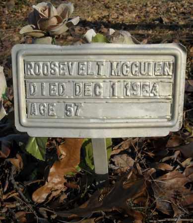 MCCUIEN, ROOSEVELT - Faulkner County, Arkansas | ROOSEVELT MCCUIEN - Arkansas Gravestone Photos