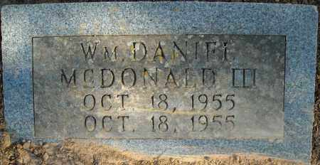 MCDONALD, III, WILLIAM DANIEL - Faulkner County, Arkansas | WILLIAM DANIEL MCDONALD, III - Arkansas Gravestone Photos
