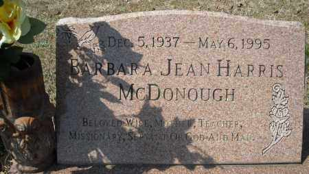 HARRIS MCDONOUGH, BARBARA JEAN - Faulkner County, Arkansas | BARBARA JEAN HARRIS MCDONOUGH - Arkansas Gravestone Photos