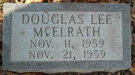 MCELRATH, DOUGLAS LEE - Faulkner County, Arkansas | DOUGLAS LEE MCELRATH - Arkansas Gravestone Photos
