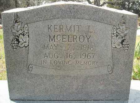 MCELROY, KERMIT L. - Faulkner County, Arkansas | KERMIT L. MCELROY - Arkansas Gravestone Photos