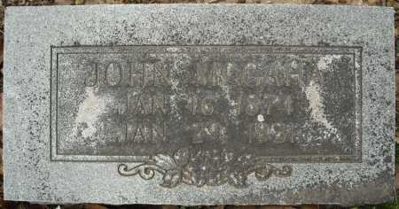 MCGAHA, JOHN WILLIAM - Faulkner County, Arkansas | JOHN WILLIAM MCGAHA - Arkansas Gravestone Photos