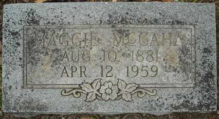 MCGAHA, MAGGIE BEATRICE - Faulkner County, Arkansas | MAGGIE BEATRICE MCGAHA - Arkansas Gravestone Photos
