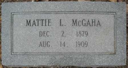 MCGAHA, MATTIE L. - Faulkner County, Arkansas | MATTIE L. MCGAHA - Arkansas Gravestone Photos
