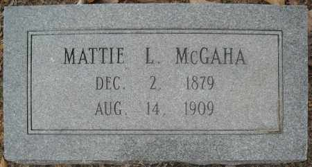 "MCGAHA, MARTHA LOU ""MATTIE"" - Faulkner County, Arkansas 