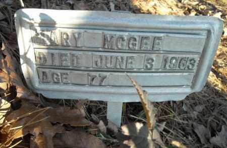 MCGEE, MARY - Faulkner County, Arkansas | MARY MCGEE - Arkansas Gravestone Photos