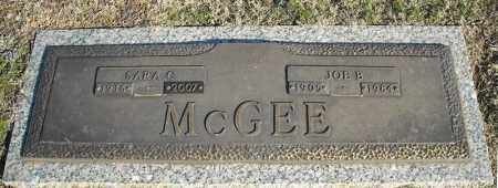 MCGEE, SARA C. - Faulkner County, Arkansas | SARA C. MCGEE - Arkansas Gravestone Photos