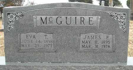 MCGUIRE, EVA T. - Faulkner County, Arkansas | EVA T. MCGUIRE - Arkansas Gravestone Photos