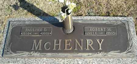 MCHENRY, ROBERT M. - Faulkner County, Arkansas | ROBERT M. MCHENRY - Arkansas Gravestone Photos