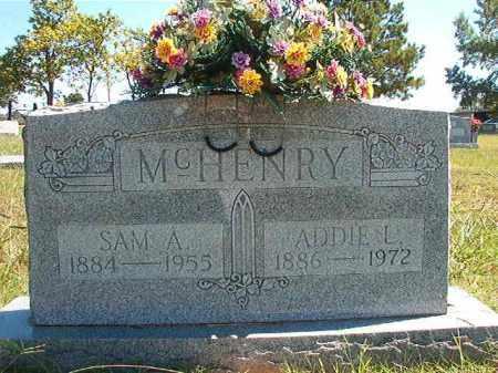 MCHENRY, ADDIE L - Faulkner County, Arkansas | ADDIE L MCHENRY - Arkansas Gravestone Photos