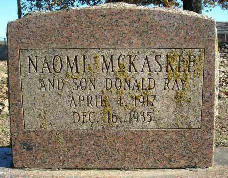 MCKASKLE, DONALD RAY - Faulkner County, Arkansas | DONALD RAY MCKASKLE - Arkansas Gravestone Photos