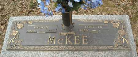 MCKEE, GEORGE - Faulkner County, Arkansas | GEORGE MCKEE - Arkansas Gravestone Photos