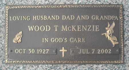 MCKENZIE, WOOD T. - Faulkner County, Arkansas | WOOD T. MCKENZIE - Arkansas Gravestone Photos