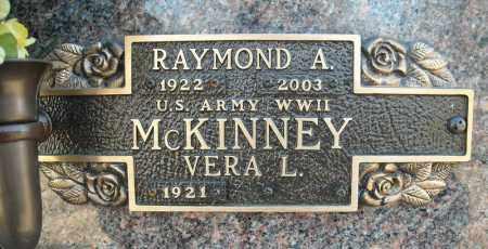 MCKINNEY (VETERAN WWII), RAYMOND A - Faulkner County, Arkansas | RAYMOND A MCKINNEY (VETERAN WWII) - Arkansas Gravestone Photos