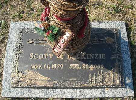 MCKINZIE, SCOTT D. - Faulkner County, Arkansas | SCOTT D. MCKINZIE - Arkansas Gravestone Photos